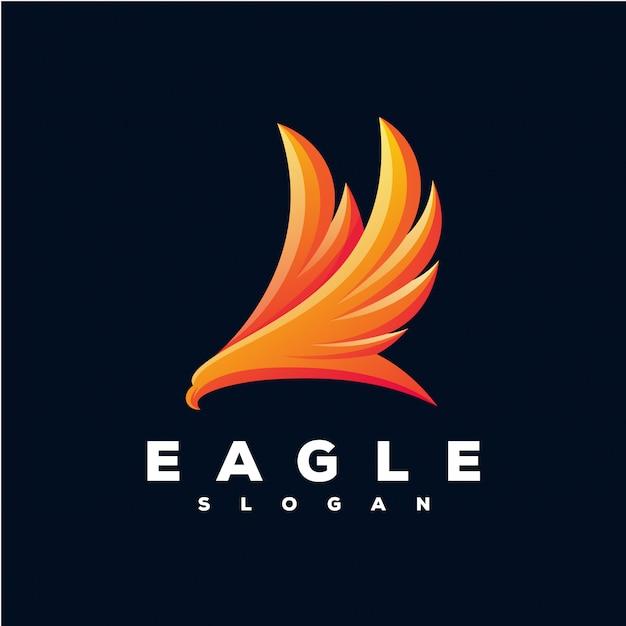 Logo eagle pronto para uso