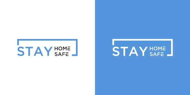 Logo fique em casa e fique seguro