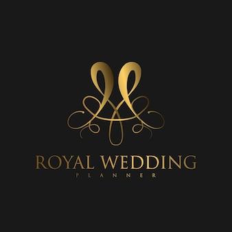 Logo ornamento de luxo