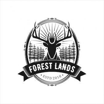 Logo para caça e aventura