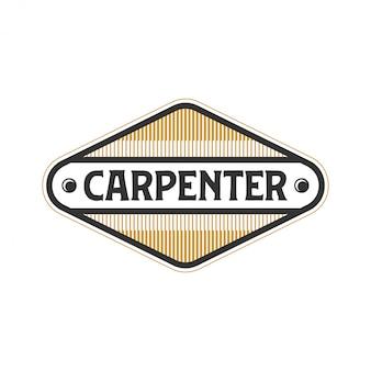 Logo para carpinteiros com modelos simples