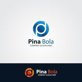 Logo pd letra colorida