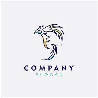 Logo phoenix para os negócios