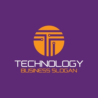 Logo technology abstract