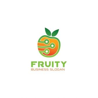 Logo tecnologia fruit