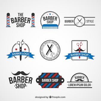 Logo templates barbearia