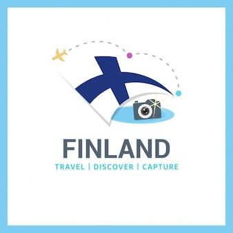 Logo viagem finlândia