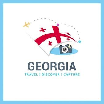 Logo viagem georgia
