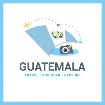 Logo viagem guatemala