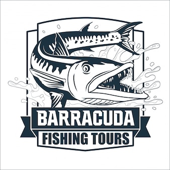 Logomarca da barracuda fishing tours