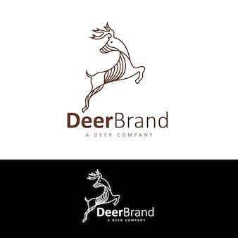 Logomarca da marca de veados