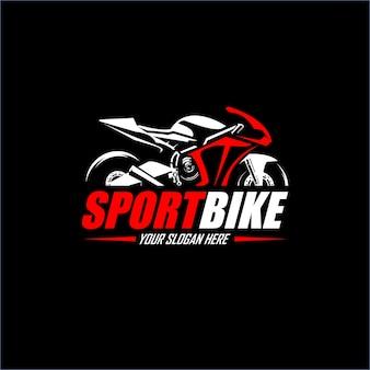 Logomarca da sport motorcicly