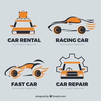 Logos carro set