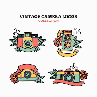 Logos de câmera vintage