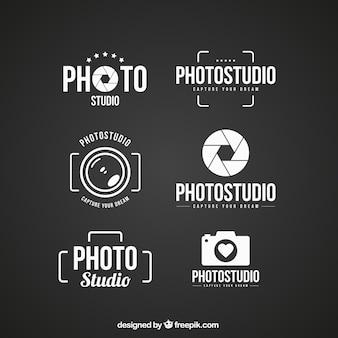 Logos de estúdio de fotografia