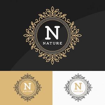 Logos dourados definir