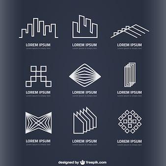Logos imobiliárias