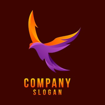 Logotipo 3d da águia