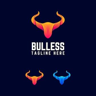 Logotipo abstrato da bull