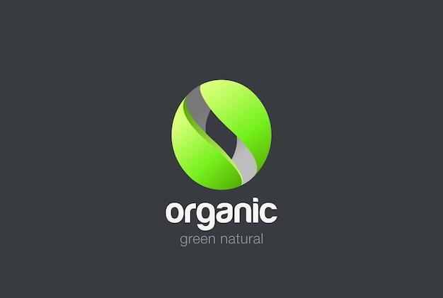 Logotipo abstrato da letra o