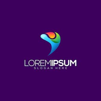 Logotipo abstrato de pessoas