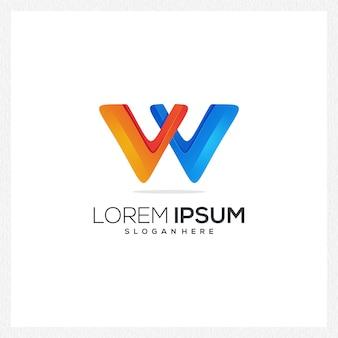 Logotipo abstrato moderno ou modelo de logotipo para identidade de marca