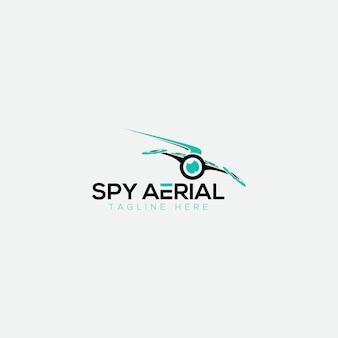 Logotipo aéreo espião