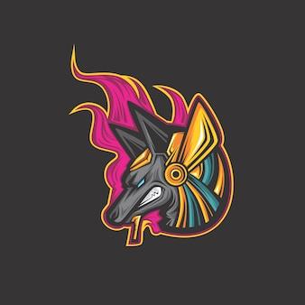 Logotipo anubis