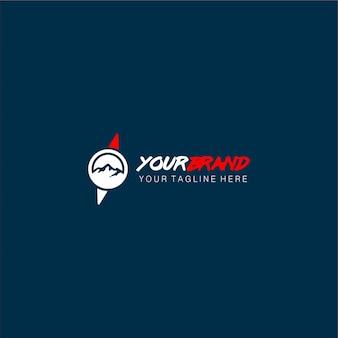 Logotipo ao ar livre