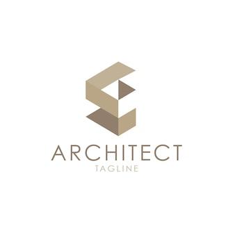 Logotipo arquitetônico