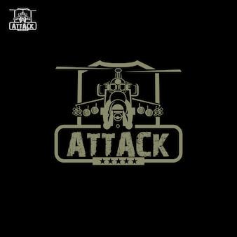 Logotipo ataque aéreo