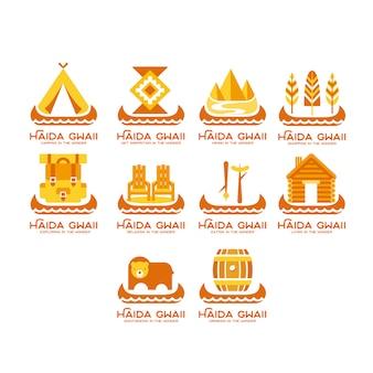 Logotipo atração turística
