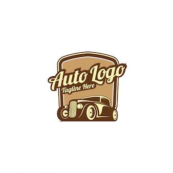 Logotipo automotivo clássico