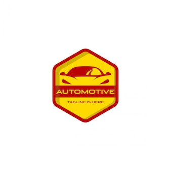 Logotipo automotivo do carro