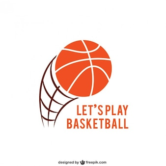 Logotipo basketball
