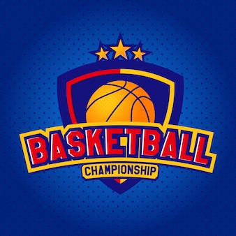 Logotipo basquetebol, modelos de t-shirt desportivo