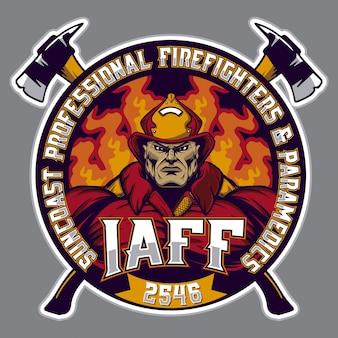 Logotipo bombeiro