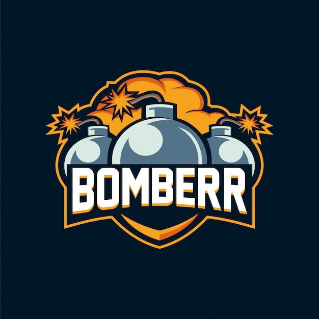 Logotipo bomberr esport