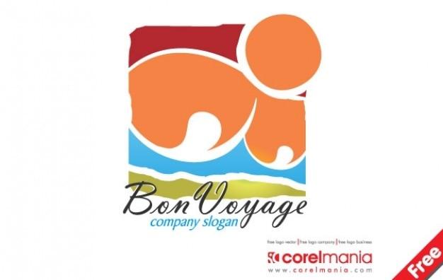 Logotipo bon voyage