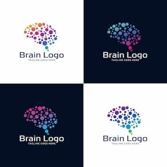 Logotipo cerebral logo