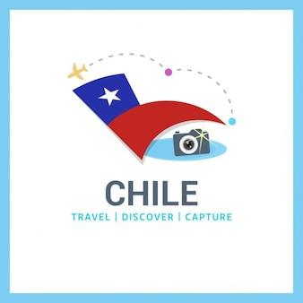 Logotipo chile viagem