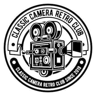 Logotipo clássico da câmera