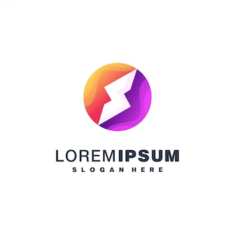 Logotipo colorido da letra s