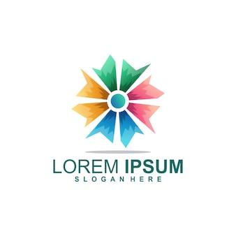 Logotipo colorido da lista de verificação