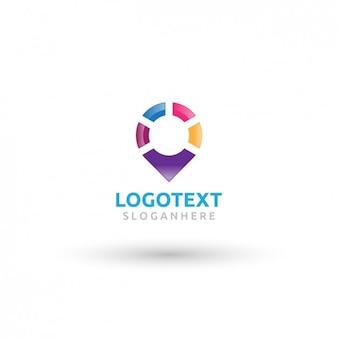 Logotipo colorido pointer