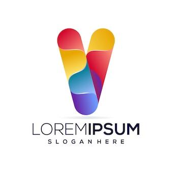 Logotipo colorido v