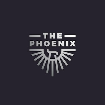 Logotipo com phoenix