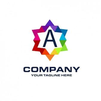 Logotipo coporative estrela