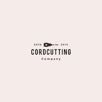 Logotipo cordcutting
