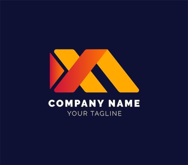 Logotipo corporativo ou logotipo de imobiliário ou logotipo de propriedade residencial ou logotipo de edifício residencial
